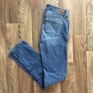 PAIGE Jeans Skyline Skinny Stretch Made in USA 25